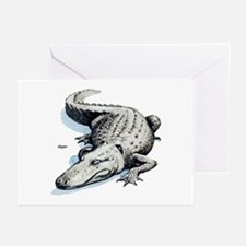 Alligator Gator Greeting Cards (Pk of 10)