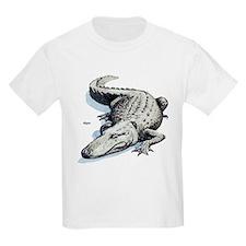 Alligator Gator (Front) Kids T-Shirt