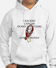 Cancer Bully (Burgundy & Cream) Hoodie