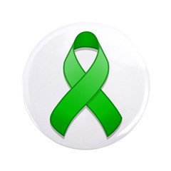 Green Awareness Ribbon 3.5
