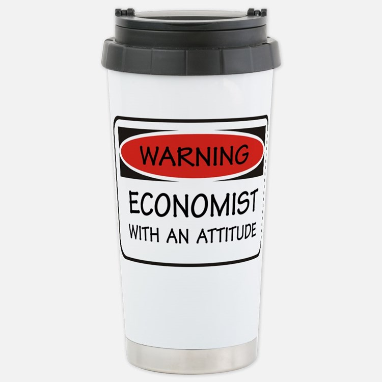 Cute Economist Travel Mug