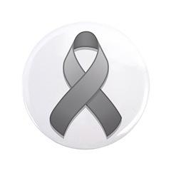 Gray Awareness Ribbon 3.5