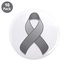 Gray Awareness Ribbon 3.5