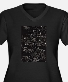 Constellation Plus Size T-Shirt
