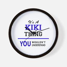 It's KIKI thing, you wouldn't understan Wall Clock