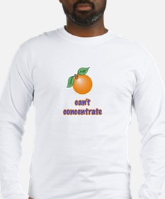 cant concentrate Long Sleeve T-Shirt