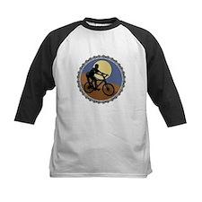 mountain biking chain design copy Baseball Jersey