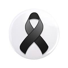 Black Awareness Ribbon 3.5