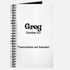 Greg Version 1.0 Journal
