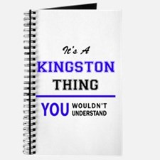 It's KINGSTON thing, you wouldn't understa Journal