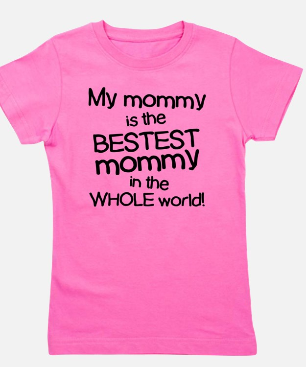 Cute Mothers day Girl's Tee