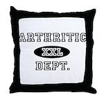 ARTHRITIC Dept. Throw Pillow