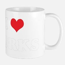 I Heart DORKS Women and apos;s T-Shirt Mug