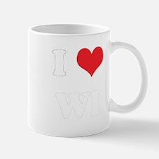 I Heart WI Mug