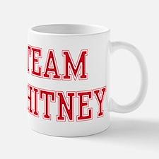 TEAM WHITNEY Small Small Mug