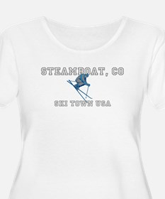Steamboat t200 Plus Size T-Shirt