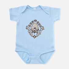 """Beehive & Bees"" Infant Bodysuit"