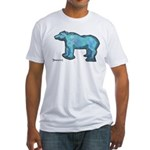 Blue Bear Fitted T-Shirt