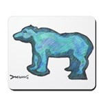Blue Bear Mousepad