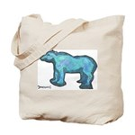 Blue Bear Tote Bag