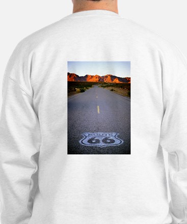 Route 66 Shield Sweatshirt