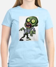 Scary cartoon zombie Women's Cap Sleeve T-Shirt