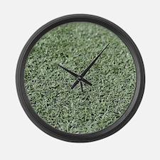 Grass AstroTurf Large Wall Clock