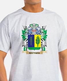 Matthias Coat of Arms - Family Crest T-Shirt
