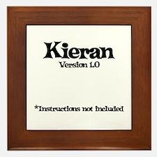Kieran Version 1.0 Framed Tile