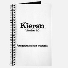 Kieran Version 1.0 Journal