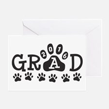 GRAD 2016 Paws Greeting Card