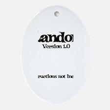 Landon Version 1.0 Oval Ornament