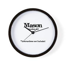 Mason Version 1.0 Wall Clock
