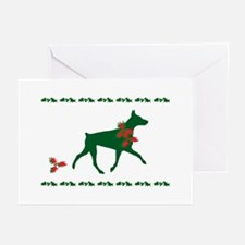 Doberman Christmas Cards (Pk of 10) Greeting Cards