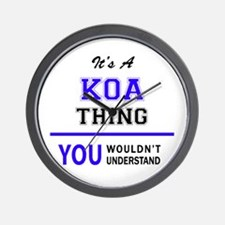 It's KOA thing, you wouldn't understand Wall Clock
