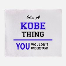It's KOBE thing, you wouldn't unders Throw Blanket