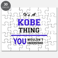 It's KOBE thing, you wouldn't understand Puzzle