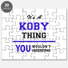 It's KOBY thing, you wouldn't understand Puzzle