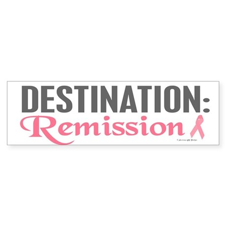 DESTINATION 1 (BC) Bumper Sticker