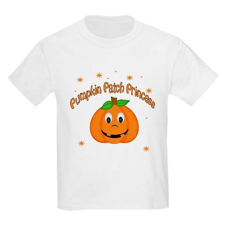 Pumpkin Patch Princess Kids Light T-Shirt