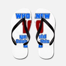 100 Years Old Could Look This Good Flip Flops