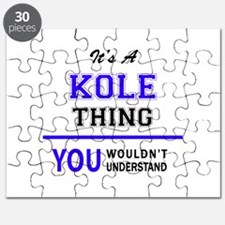 It's KOLE thing, you wouldn't understand Puzzle