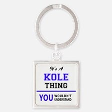 It's KOLE thing, you wouldn't understand Keychains