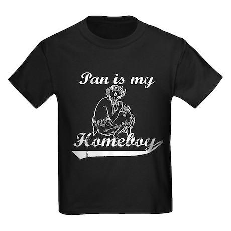 Pan is my Homeboy Kids Dark T-Shirt