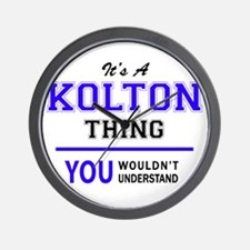 It's KOLTON thing, you wouldn't underst Wall Clock