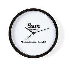Sam Version 1.0 Wall Clock
