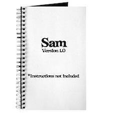 Sam Version 1.0 Journal