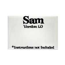 Sam Version 1.0 Rectangle Magnet