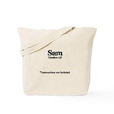 Sam Version 1.0 Tote Bag