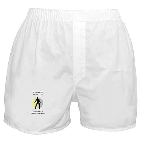 Teaching Superhero Boxer Shorts